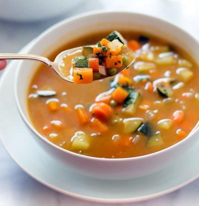 سوپ هویج و کرفس