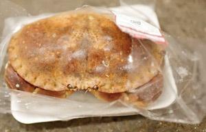 بستهبندی خرچنگهای زنده
