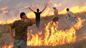 فلسطین درآتش