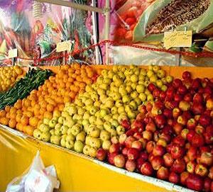 آخرین وضعیت قیمت میوه و سبزیجات؛ بیشترین میوه قاچاق در بازار پرتقال است