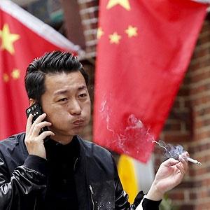 جان خواهند سپرد یکسوم مردان جوان در چین   سیگار نکشید