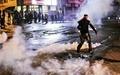 زد و خورد خیابانی در ترکیه