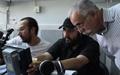 چهرهپردازی سه بعدی عبدالله اسکندری در یک فیلم