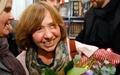 عکس روز: برنده نوبل ادبیات