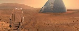 گزارش و تصویر | کلبه اسکیمویی؛ برنده رقابت طراحی خانههای مریخی ناسا
