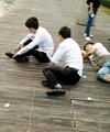 جریمه چینی چهاردستوپا رفتن