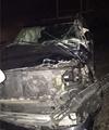 خودرو مهرداد میناوند در نوشهر واژگون شد