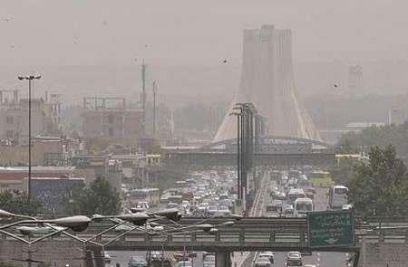 سند منشا گرد و غبار تهران تهیه میشود