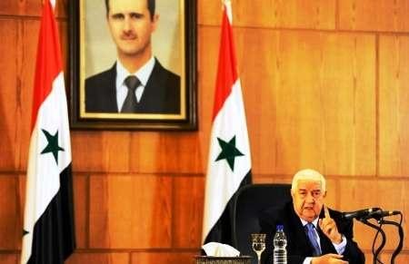 ولید المعلم: اولویت سوریه، جنگ با تروریسم است