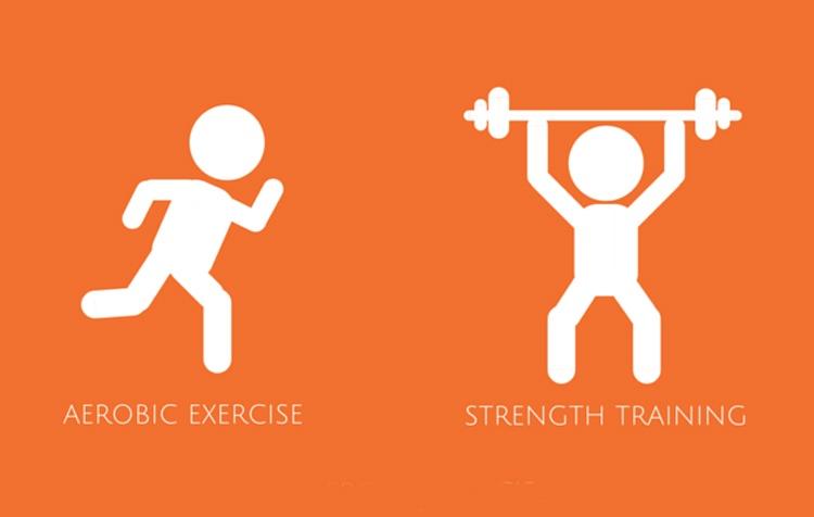 اول کدام ؟ تمرینهای هوازی یا قدرتی؟