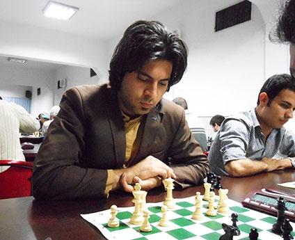 مهرداد صداقتی قهرمان شطرنج اوپن کشوری جام زندهرود شد