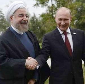 رییسان جمهوری روسیه و ایران در تهران مذاکره میکنند