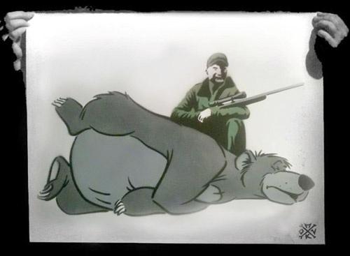 هشدار با کشتن شخصیتهای کارتونی