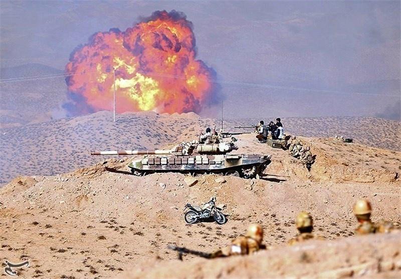 تمرین مقابله با جنگ الکترونیک دشمن/ آتشبازی جنگندهها در تربتجام