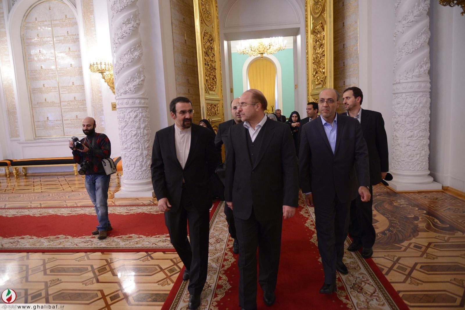 گزارش تصویری از سفر شهردار تهران به مسکو