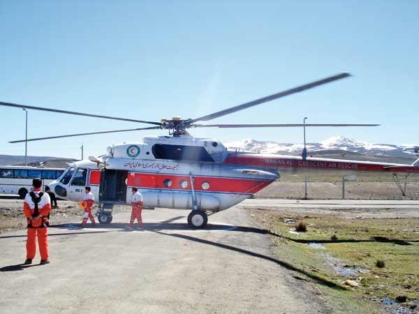 بالگردهای جدید در راه اورژانس هوایی