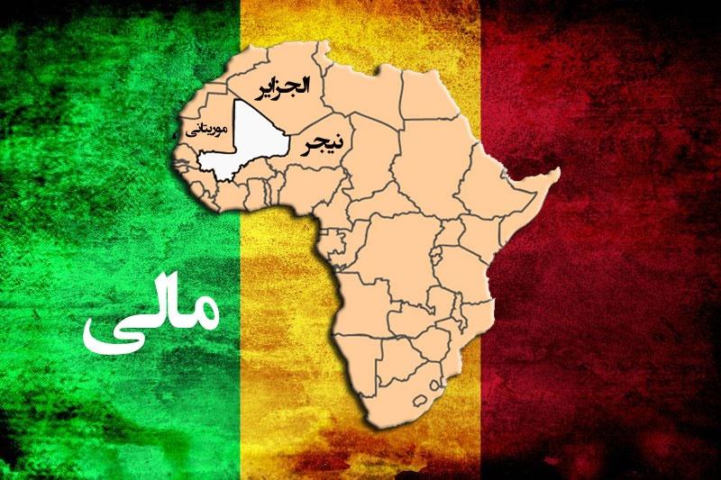 Mali Map ۸۰۰