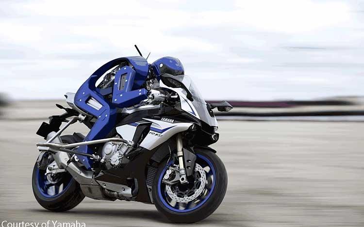 Yamaha- robot motorcycle