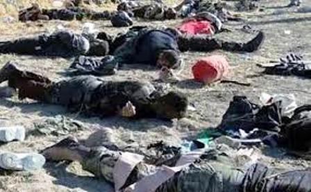 کشته شدن دهها تروریست داعشی در حومه حمص