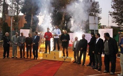 البرز گاز کیش قهرمان تنیس لیگ آیندهسازان شد