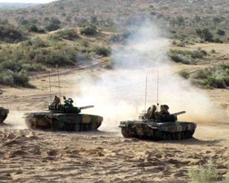 بزرگترین رزمایش نیروی زمینی هند در نزدیکی مرز پاکستان آغاز شد