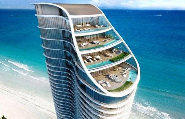 ساخت برجی متفاوت در ساحل فلوریدا