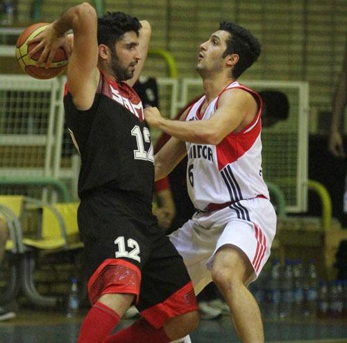 نماهایی از دیدار تیمهای بسکتبال شیمیدر تهران و ثامن مشهد