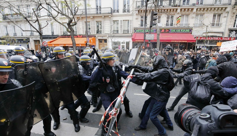 FRANCE-CLIMATE-WARMING-COP۲۱