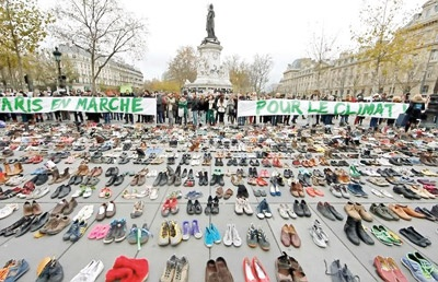 اعتراض کفشها به دولتها برای تخریب محیطزیست