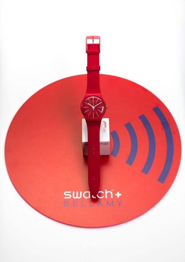 افزوده شدن قابلیت پرداخت هوشمند به ساعتهای سواچ