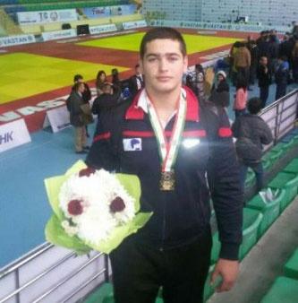 جودو بینالمللی تاجیکستان؛ پرهیزگاری به مدال طلا دست یافت، غنچه برنز گرفت