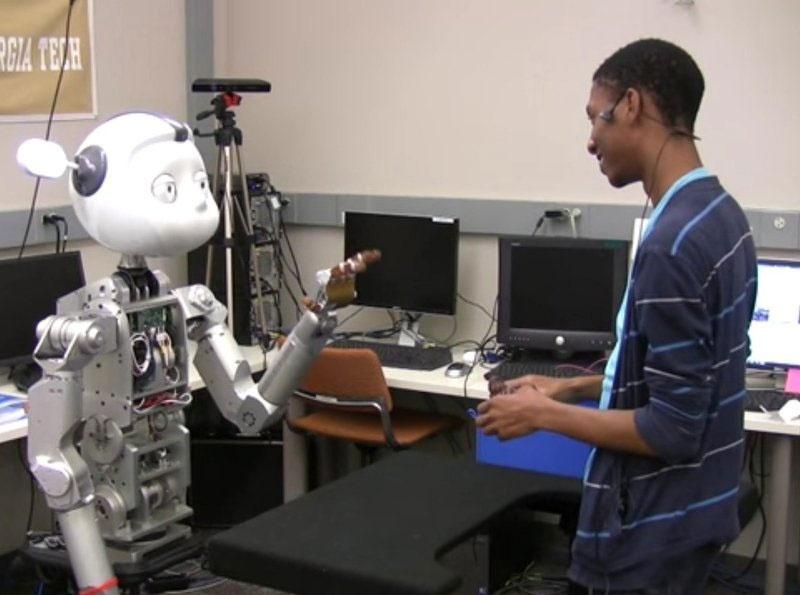 رونمایی از فناوری جدید برای مکالمه روباتها