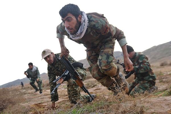 مرحله نخست رزمایش الی بیتالمقدس خوزستان باعنوان مدافعان حرم آغاز شد
