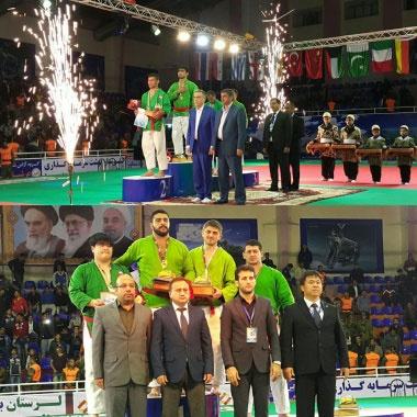 ایران نایب قهرمان کوراش قهرمانی جهان شد
