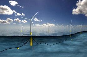 ساخت بزرگترین مزرعه بادی دریایی جهان در اسکاتلند