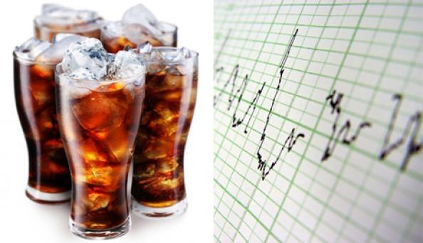 نوشابههای گازدار خطر نارسایی قلب را بالا میبرند