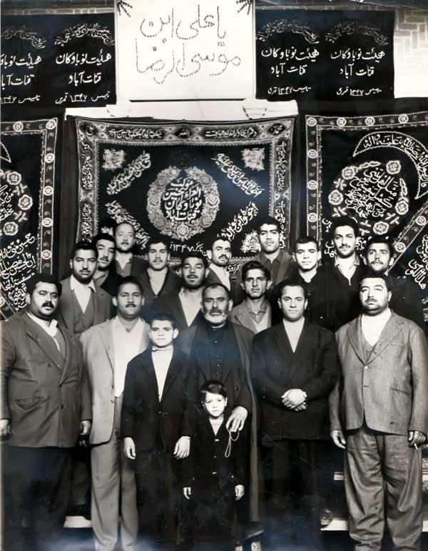 حاج اکبر ناظم-پیرغلام امام حسین (ع)