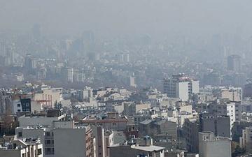 کاهش دید شدید درتهران با آلودگی هوا