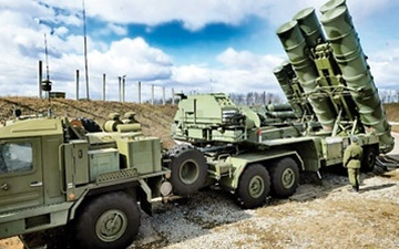 موشکهای اس ۴۰۰ روسیه در راه سوریه