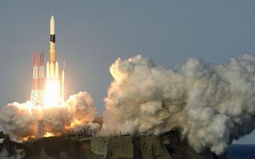عکس روز: ماهواره در راه فضا