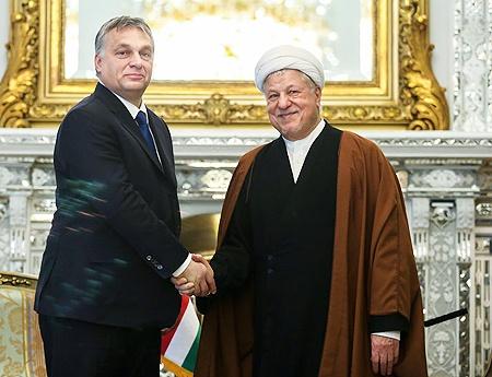 دیدار نخستوزیر مجارستان با رئیس مجمع تشخیص مصلحت نظام