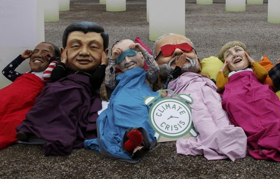 اعتراض به رهبران جهان
