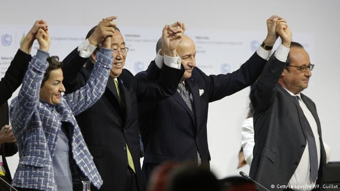 واکنشها به توافق تاریخی در نشست تغییرات اقلیمی پاریس