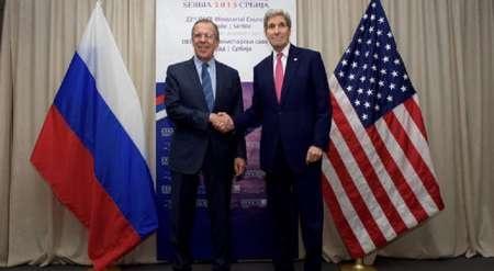 مذاکرات کری و لاوروف پشت درهای بسته   گفت و گو درباره سوریه و داعش