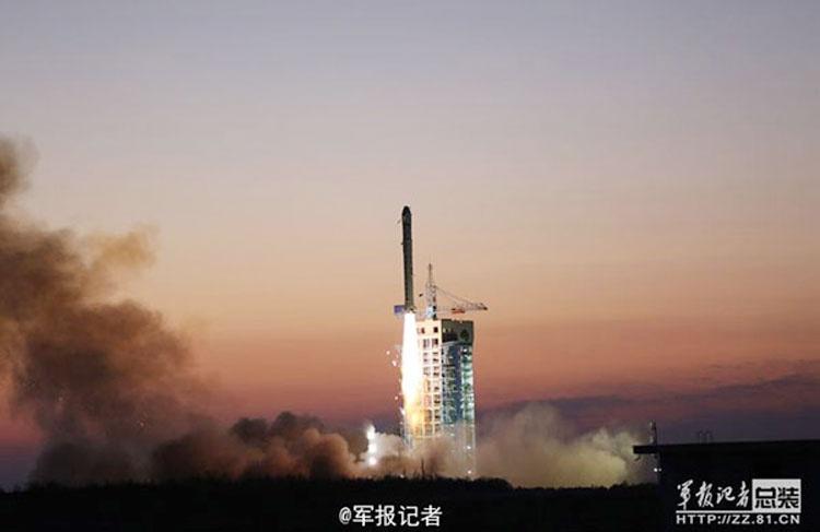 نخستین ماهواره کاوشگر ماده تاریک چین پرتاب شد