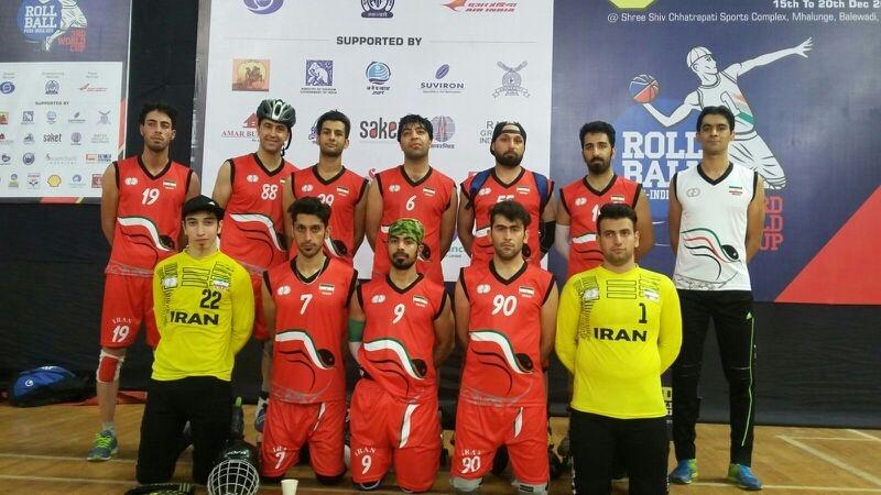 Iran Skate Rollball Team