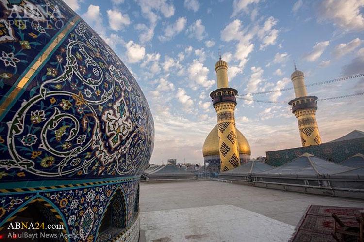 عکس روز | طلوع خورشید بر فراز حرم حضرت عباس (ع)