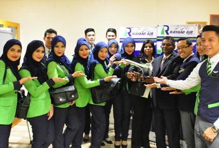 آژانس هواپیمایی رایانی ایر | پرواز مطابق با آداب اسلامی در مالزی