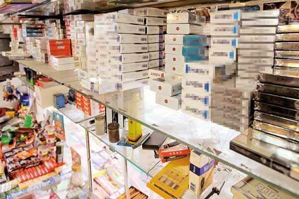 فروش سیگار فقط در مغازههای دارای مجوز