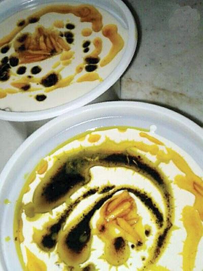 آش کشک غذای محلی آستانه  اشرفیه